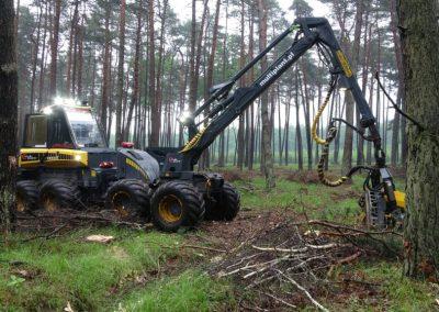1 1 1 400x284 - Wycinka - Harvester Ponsse ERGO 8W