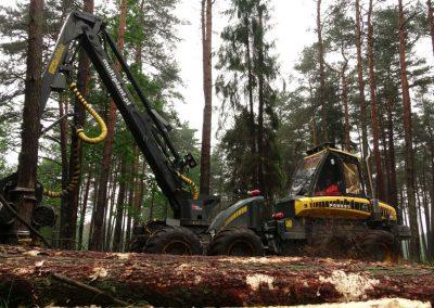 13 3 400x284 - Wycinka - Harvester Ponsse ERGO 8W