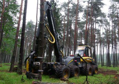 14 1 400x284 - Wycinka - Harvester Ponsse ERGO 8W