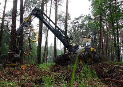 15 2 400x284 - Wycinka - Harvester Ponsse ERGO 8W