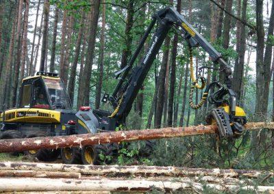 19 2 400x284 - Wycinka - Harvester Ponsse ERGO 8W