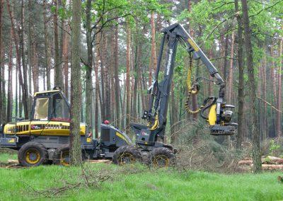 20 3 400x284 - Wycinka - Harvester Ponsse ERGO 8W