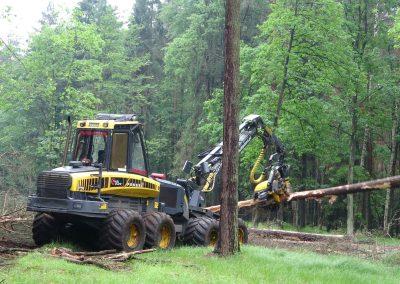 21 400x284 - Wycinka - Harvester Ponsse ERGO 8W