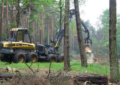 22 1 400x284 - Wycinka - Harvester Ponsse ERGO 8W