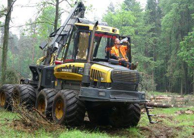 24 1 400x284 - Wycinka - Harvester Ponsse ERGO 8W