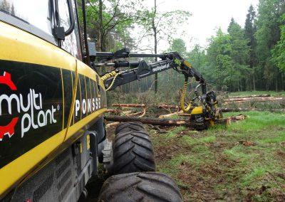 26 1 400x284 - Wycinka - Harvester Ponsse ERGO 8W