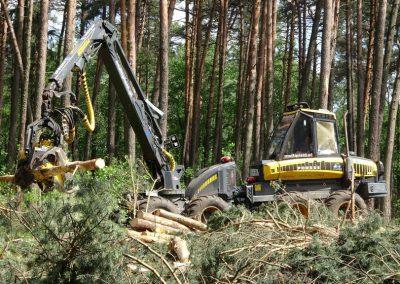 28 2 400x284 - Wycinka - Harvester Ponsse ERGO 8W