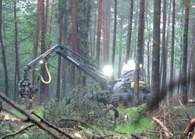 3 2 1 400x284 - Wycinka - Harvester Ponsse ERGO 8W