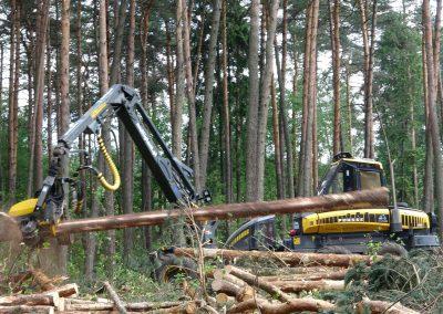 30 2 400x284 - Wycinka - Harvester Ponsse ERGO 8W