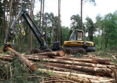 33 2 400x284 - Wycinka - Harvester Ponsse ERGO 8W
