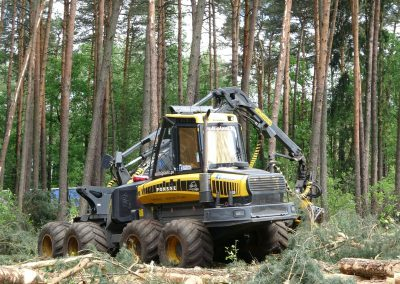 34 1 400x284 - Wycinka - Harvester Ponsse ERGO 8W
