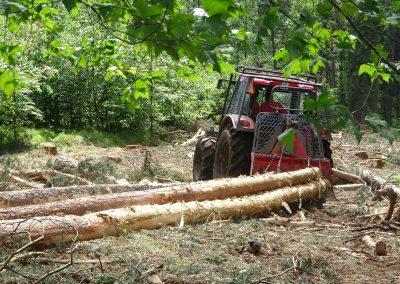 35 1 400x284 - Wycinka - Harvester Ponsse ERGO 8W