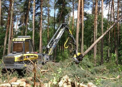 38 2 400x284 - Wycinka - Harvester Ponsse ERGO 8W