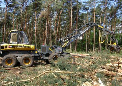 39 400x284 - Wycinka - Harvester Ponsse ERGO 8W