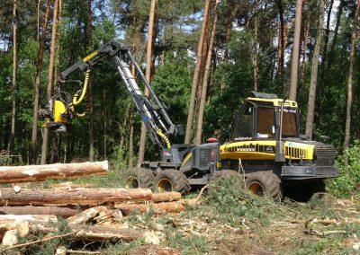 40 1 400x284 - Wycinka - Harvester Ponsse ERGO 8W