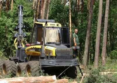 41 1 400x284 - Wycinka - Harvester Ponsse ERGO 8W