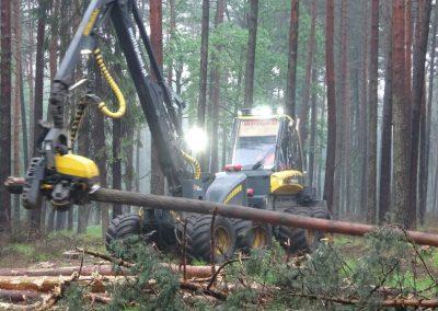 5 1 1 400x284 - Wycinka - Harvester Ponsse ERGO 8W