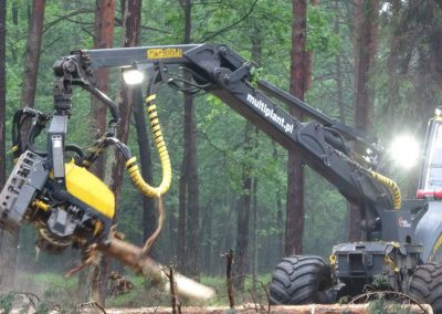 7 2 1 400x284 - Wycinka - Harvester Ponsse ERGO 8W