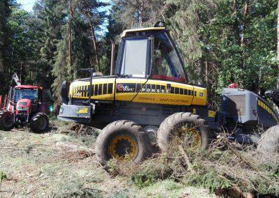 7 3 400x284 - Wycinka - Harvester Ponsse ERGO 8W