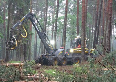 8 1 2 400x284 - Wycinka - Harvester Ponsse ERGO 8W